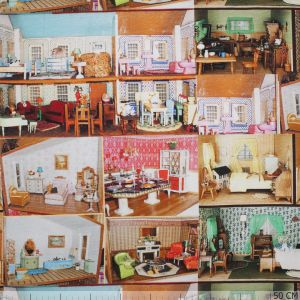 Tricot Patchwork Doll House
