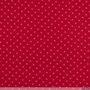 Cotton Red Little Dot Pink