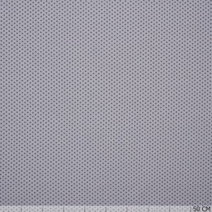 Cotton Jersey Little Dots on Grey