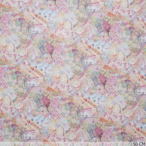 Liberty ~ Royal Oak House Tana Lawn - Pink