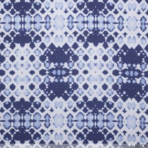 French Terry Raat Blue