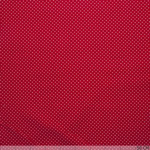 Corderoy Small Dot Red