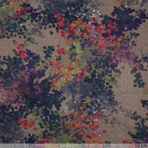 Punti Painted Abstract Blossom Sand
