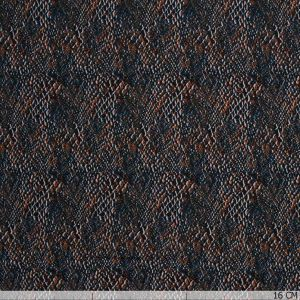 Viscose Graphic Skin Petrol