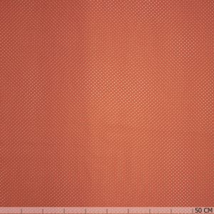 Chiffon dot orange