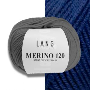 Lang Yarns Merino 120 Navy