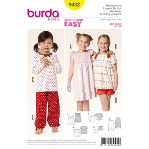 Burda Naaipatroon  9432