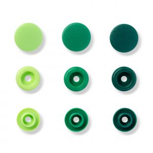 Prym Love Color KST drukknop. groen 12,4mm