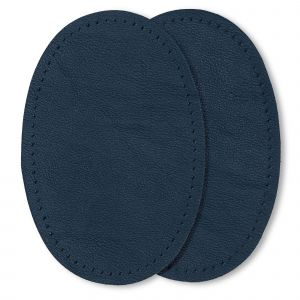 Patches nappa 9 x 13,5 cm donkerblauw
