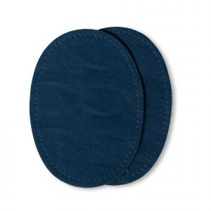 Patches nappa 10 x 14 cm donkerblauw