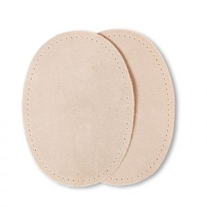 Patches suede opstr. 10x14cm zand