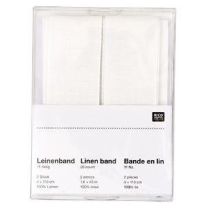 SB Linnen band Wit 4/110CMS/2