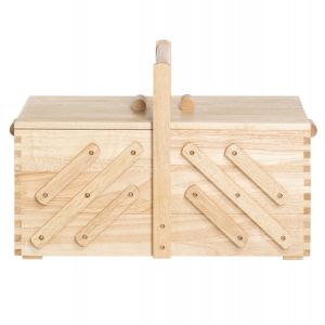 Naaibox hout licht Large