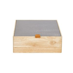 Assortimentsbox hout M taupe