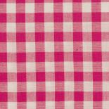 Gingham 20mm Bright Pink