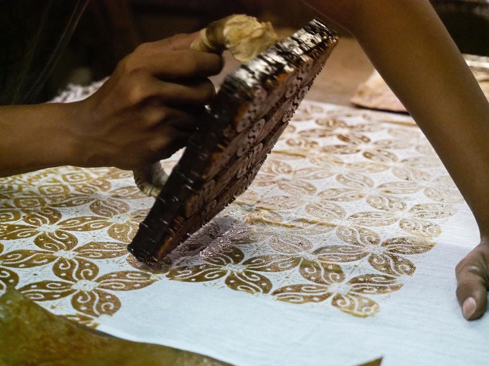 batik stempels